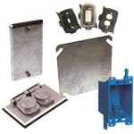 electrical boxes, covers & accessories